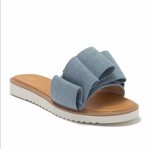 [WOMENS] BC footwear Vegan Pleated Sandal
